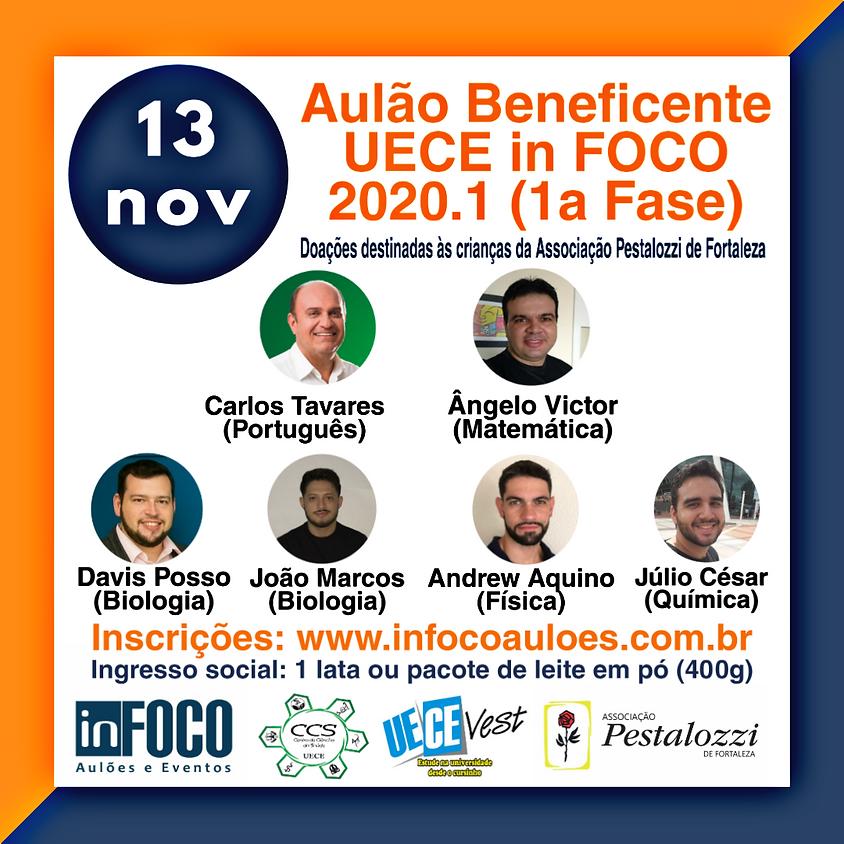 AULÃO BENEFICENTE UECE in FOCO 2020.1 (1ª FASE) - 13/11/2019