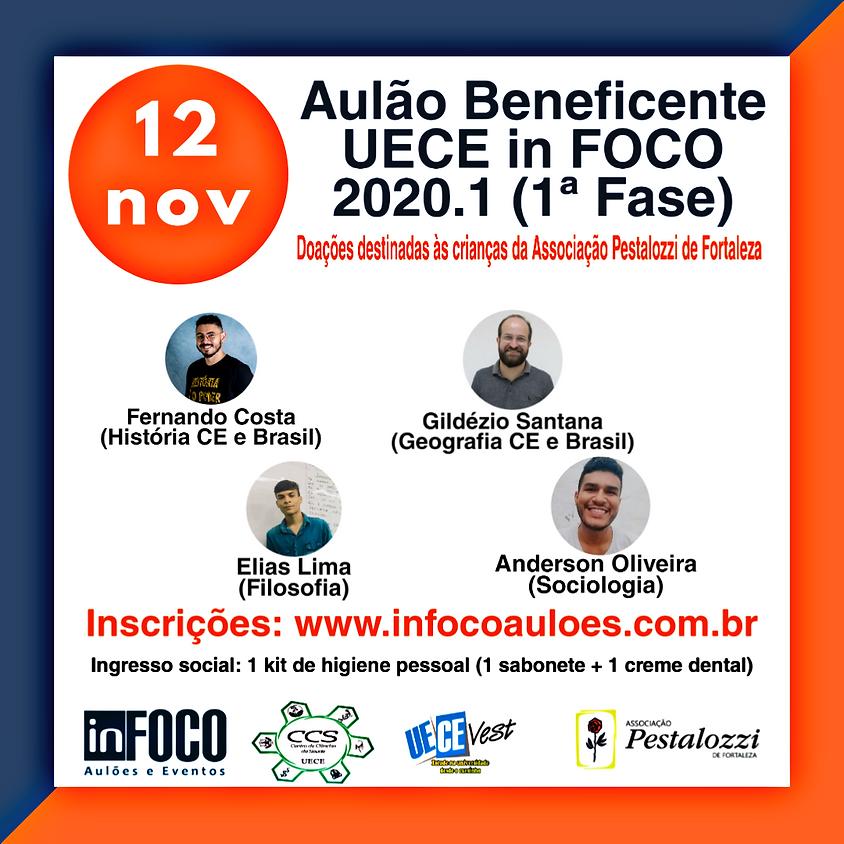 AULÃO BENEFICENTE UECE in FOCO 2020.1 (1ª FASE) - 12/11/2019