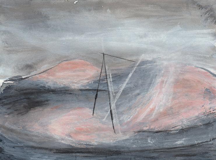 Pink Beach - Giclee Print