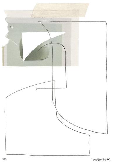 Danmark Lines (Giclee Print), A5
