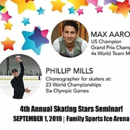 Coach and Skater – Working Together to Teach this Exclusive Seminar