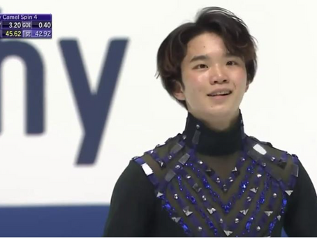 And the Silver at the 2020 NHK Trophy Goes to....