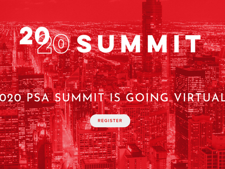 PSA Virtual Summit, May 19 - 21, 2020