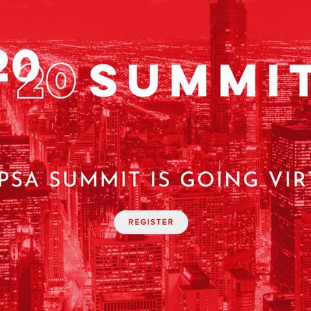 PSA Virtual Summit, May 19 - 21, 2020