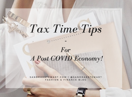 Tax Time Tips - For A Post COVID Economy!