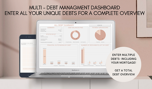 MULTI DEBT MANAGMENT DASHBOARD