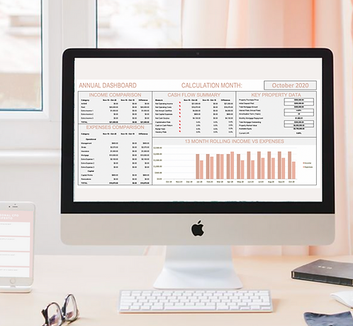 Investment property dashboard