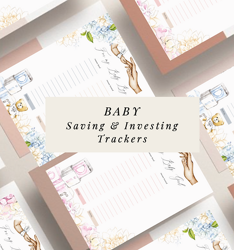 Baby Savings and Investing Trackers