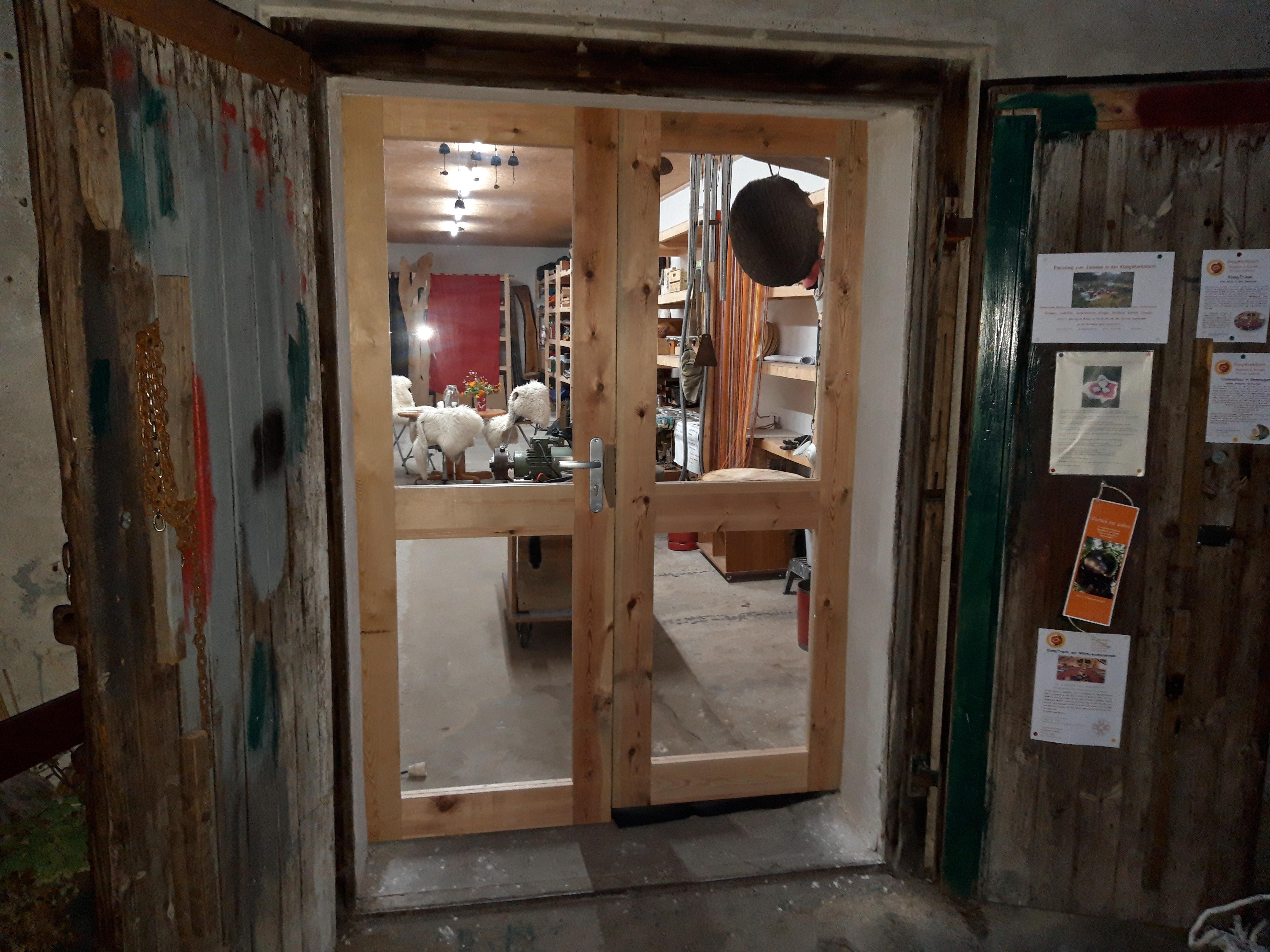 Klangwerkstatt Eingang