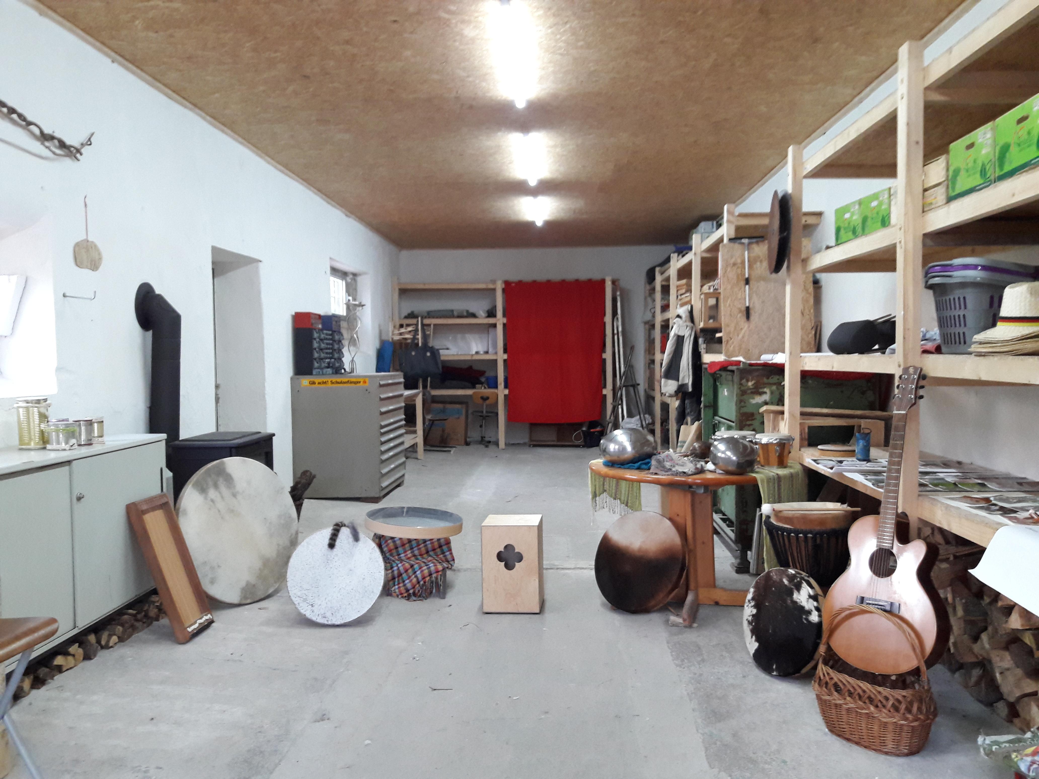Einrichtung Klangwerkstatt