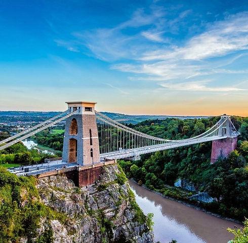 clifton suspension bridge for yoga site.
