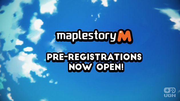 Maple Story M pre-registration is now online! | United Gaming