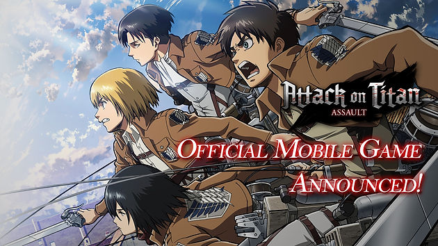 Attack on Titan: Assault is AoT's official mobile game title