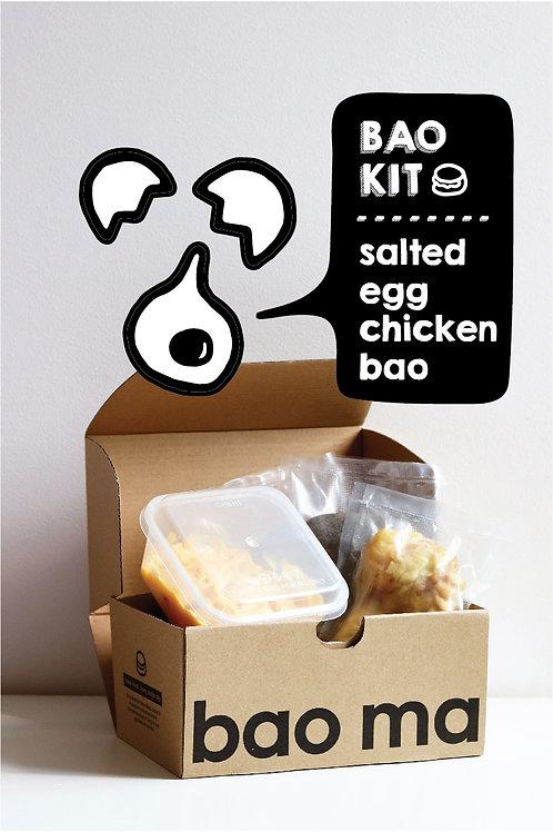 Salted Egg Chicken Bao Kit