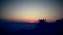 Om Beach in Gokarna/ Südindien. - Auf Chaos folgt die Entspannung. -Nachdem ich die ersten Tage in