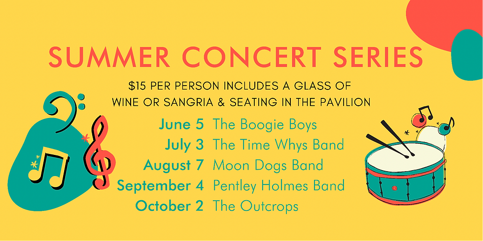 Summer Concert Series with The Pentley Holmes Band