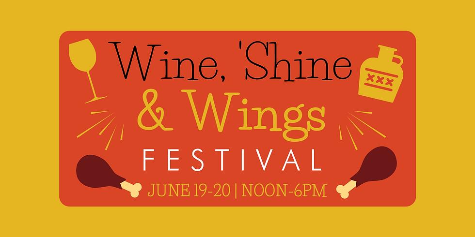 Wine, 'Shine, & Wings Festival