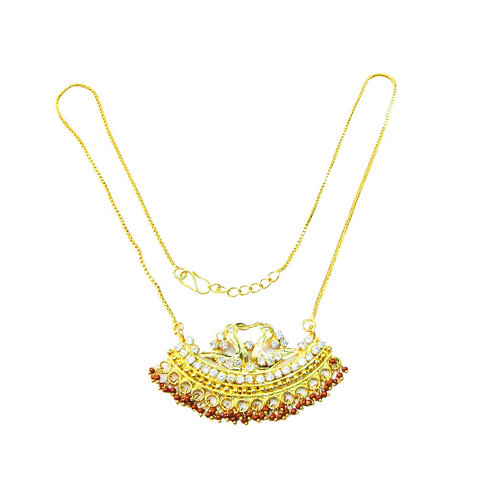 Vinayak Mayur Pendant with Chain collections