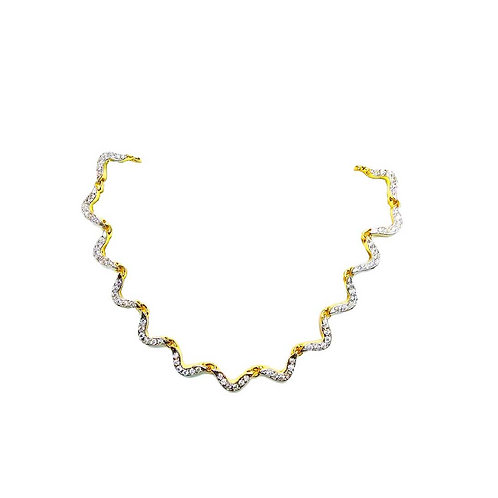 Vinayak Sober and Beauty Necklace solitaire (CZ)