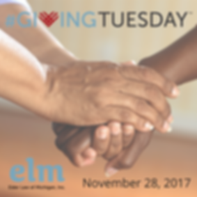 #givingtuesday, ELM, 11/28/2017