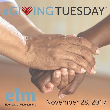 #givingtuesday, ELM, 11/28/2017