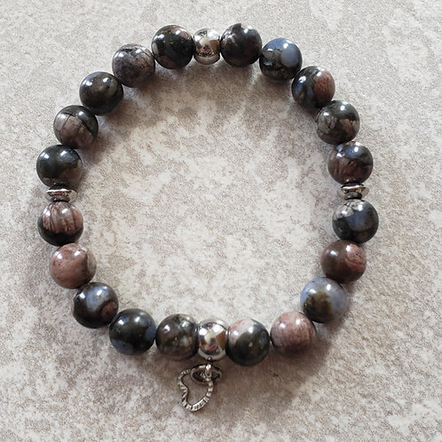 Bracelet de Rhodonites