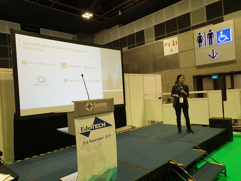 Silversea Media Group Chairman & CEO, Niu Yuhong, in EduTech Asia 2019 Speaking Session