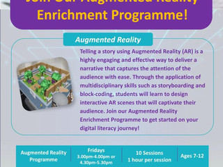 Augmented Reality Programme @ Youth Champion Academy