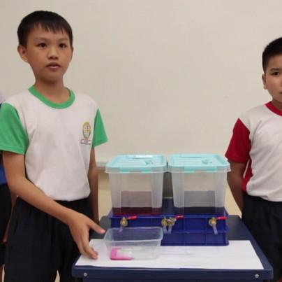 Qihua Pri Sch - 3 way liquid dispenser