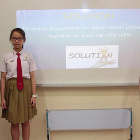 Qihua Pri Sch - Table Tennis Serving Board