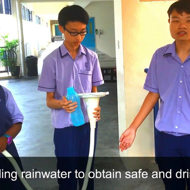 Jurong West Secondary School - Rain Dispenser