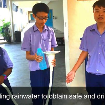 Jurong West Secondary School - Rain Dispenser