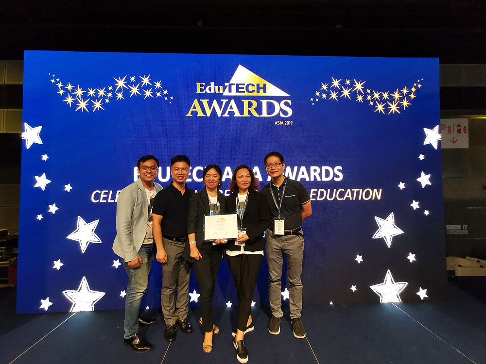 Silversea Media Group won Silver Award for Best AR/VR Solution in EduTech 2019