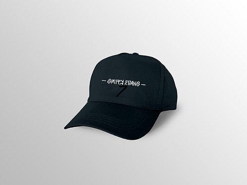 Black Spiffy Dad Cap