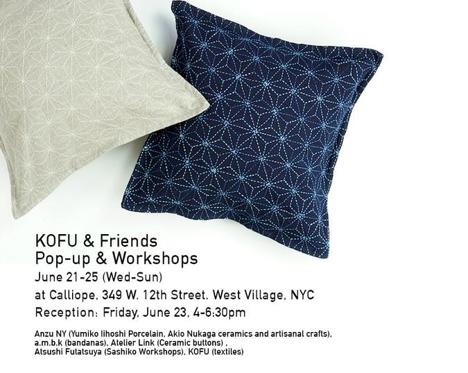 KOFU & Friends Pop-Up (June 21-25 in NYC)