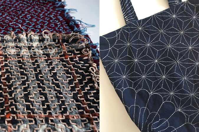 Sashiko master, Atsushi Futatsuya is coming back to NY for workshops this weekend.