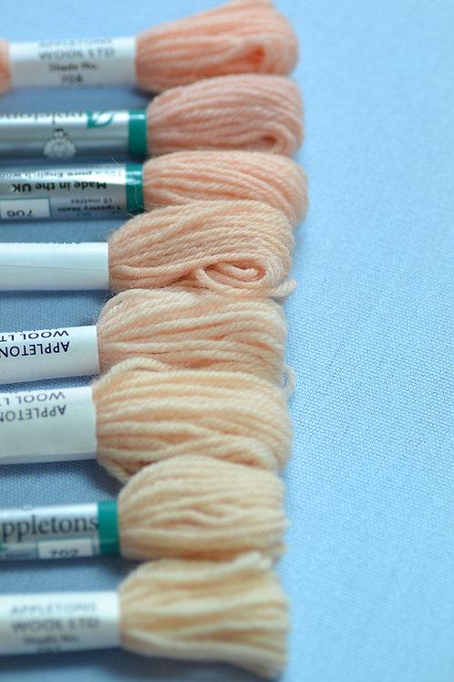 Complete range: 700 Flesh Tints