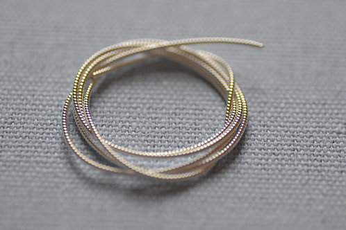Pearl Purl no.2 - Silver