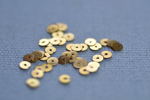 Spangles 3mm - Gilt