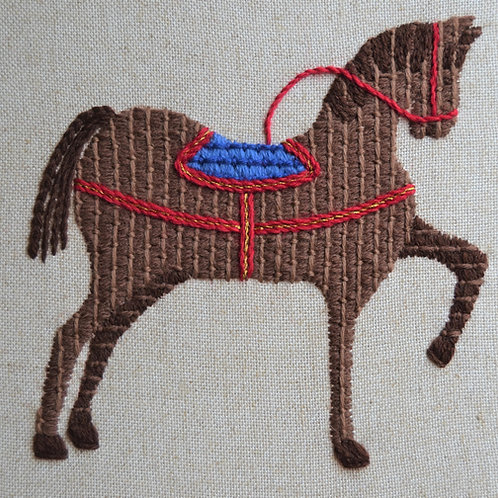 Bayeux Tapestry Horse Kit