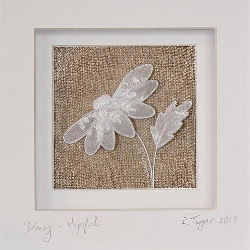 Stumpwork Daisy 'Hopeful'