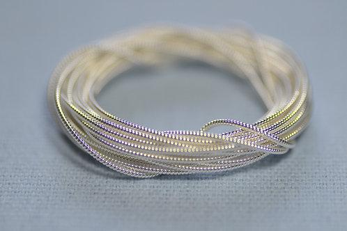 Pearl Purl no.1 - Silver