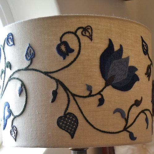 Crewelwork 'Tendrils' Lampshade Kit: Winter