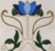 art nouveau waterlily goldwork.jpg