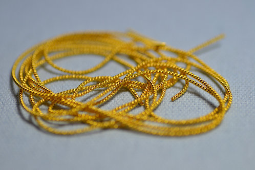Wire Check Purl no.6 - Gilt