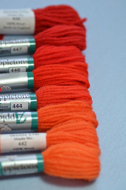 Complete range: 440 Orange Red