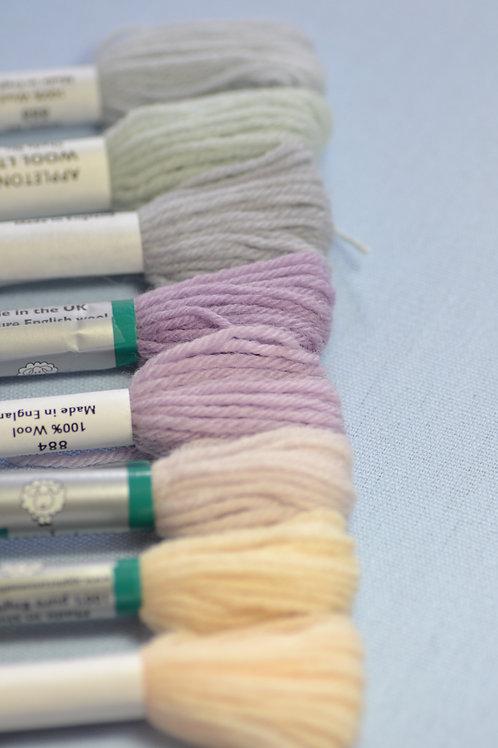 Complete range: 880 Pastel Shades