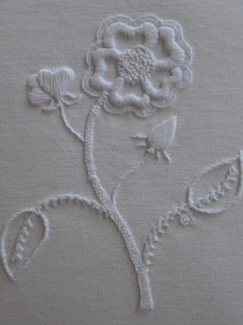Mountmellick 'Rose' Whitework Kit