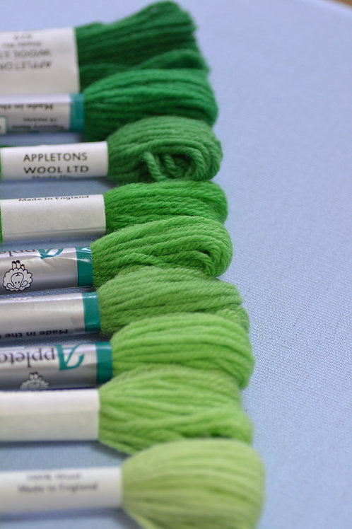 Complete range: 420 Leaf Green