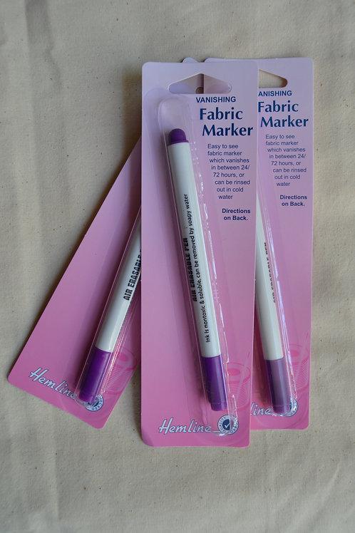 Fabric Marker Pen - vanishing